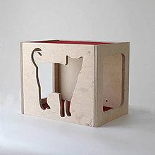 Pre zvieratká - Nástenný mačací domček - 7776657_