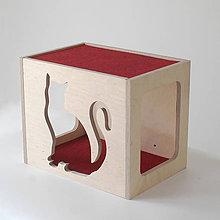 Pre zvieratká - Nástenný mačací domček - 7776682_