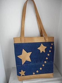 Veľké tašky - Kabelka hviezdičky - 7777758_