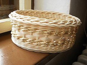 Košíky - Košík oválny s kukuričným šúpolím - 7774752_