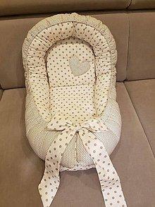 Textil - Hniezdo pre bábätko - 7776971_