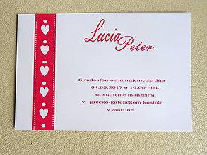 Papiernictvo - Svadobné oznámenie - 7775920_