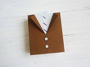 Papiernictvo - darčeková krabička pre muža - 7778050_