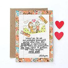 Grafika - Na kávičke (valentínka s textom)  (26) - 7776758_