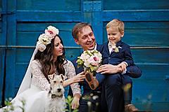 luxusná svadobná kytica