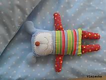 Textil - Návliečky do postieľky pre deti 100% bavlna Hviezdička bledomodrá - 7779873_
