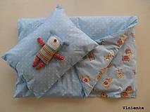 - Obojstranné obliečky do postieľky 100% bavlna Hviezdička a P - 7780010_