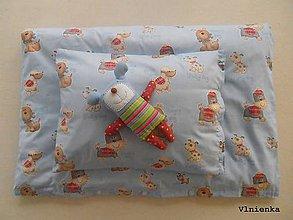 Textil - Návliečky do postieľky pre deti 100% bavlna Bledomodrý psíček - 7779909_