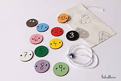 Hračky - Hračka húsenička - základné farby a čísla 1 až 10 (1-10) - 7778898_
