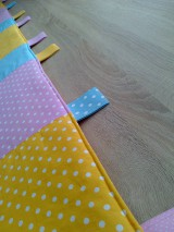 Úžitkový textil - Zástena pestrá*žltá* - 7779273_
