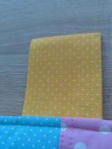 Úžitkový textil - Zástena pestrá*žltá* - 7779287_