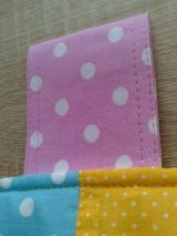 Úžitkový textil - Zástena pestrá*žltá* - 7779299_