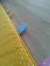 Úžitkový textil - Zástena pestrá*žltá* - 7779302_