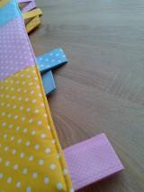 Úžitkový textil - Zástena pestrá*žltá* - 7779309_