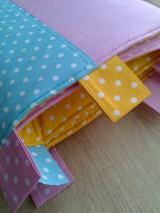 Úžitkový textil - Zástena pestrá*žltá* - 7779320_