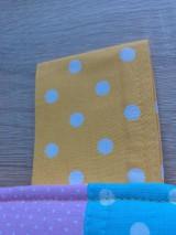 Úžitkový textil - Zástena pestrá*žltá* - 7779327_