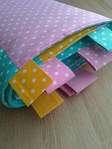 Úžitkový textil - Zástena farebná*tyrkys* - 7779222_