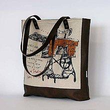 Kabelky - RetroBag ( sewing machine) - 7780520_