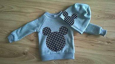 Detské oblečenie - Detský set Minnie alebo Mickey :) - 7782085_