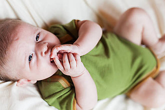 Detské oblečenie - Rostoucí body 100%LETNÍ merino: 74-80/86 - 7779704_