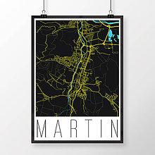 Grafika - MARTIN, moderný, čierny - 7780732_