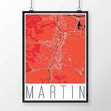 Grafika - MARTIN, moderný, červený - 7780784_