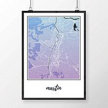 Grafika - MARTIN, klasický, modro-fialový - 7780876_