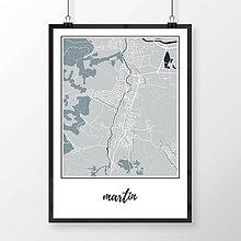 Grafika - MARTIN, klasický, svetlomodrý - 7780892_