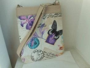 Kabelky - kabelka motýľ - 7780216_