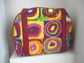 Veľké tašky - Pestrá kabelka - 7781871_