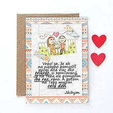 Grafika - Na kávičke (valentínka s textom)  (25) - 7782764_