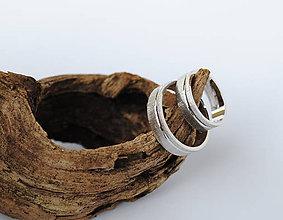 Prstene - Rukou prírody písané obrúčky II - 7785047_