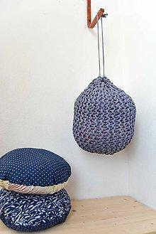 Úžitkový textil - _MuLTi-VaK... v ModroSivej - 7783814_