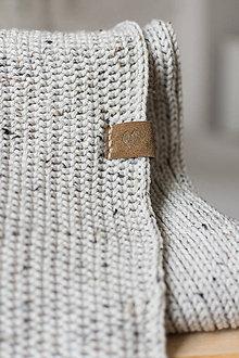 Úžitkový textil - Pletená deka
