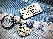Kľúčenky - FUNNY textíky :)  - 7783631_