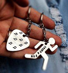 Kľúčenky - BRNKÁTKO & BEŽEC :) Cena je za 1ks - 7783637_