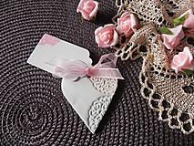 Darčeky pre svadobčanov - Svadobné magnetky s menovkami - púdrový dotyk mäty:-) - 7785314_