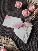 Darčeky pre svadobčanov - Svadobné magnetky s menovkami - púdrový dotyk mäty:-) - 7785333_