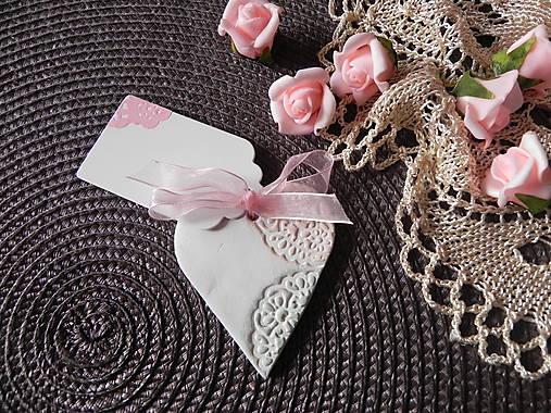 Svadobné magnetky s menovkami - púdrový dotyk mäty:-)