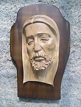 Obrazy - Hlava Krista na kríži - 7787232_