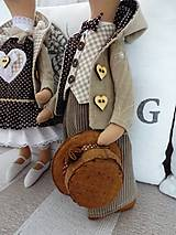 Bábiky - Myšiak džentlmen - 7784805_