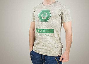 Oblečenie - Pánske tričko HADES (organická bavlna) - 7784578_