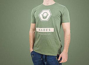 Oblečenie - Pánske tričko HADES (organická bavlna) - 7784656_