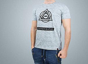 Oblečenie - Pánske tričko TRIUMVIRATUS (organická bavlna) - 7784869_
