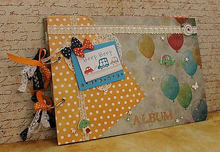 Papiernictvo - balóniky_ detský album - 7783843_