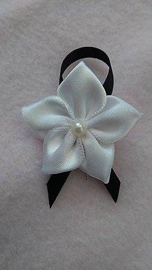 Pierka - Čierno-biele svadobné pierka - 7787502_