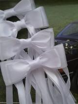 mašle na svadobné auto