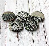 Materiál ručne robený - Natural buttons 38 mm poťahované gombíky - 7785056_
