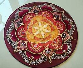 Dekorácie - Mandala ženskej vášne - 7786369_