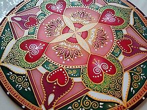 Dekorácie - Mandala lásky, nové partnerstvo - 7786898_